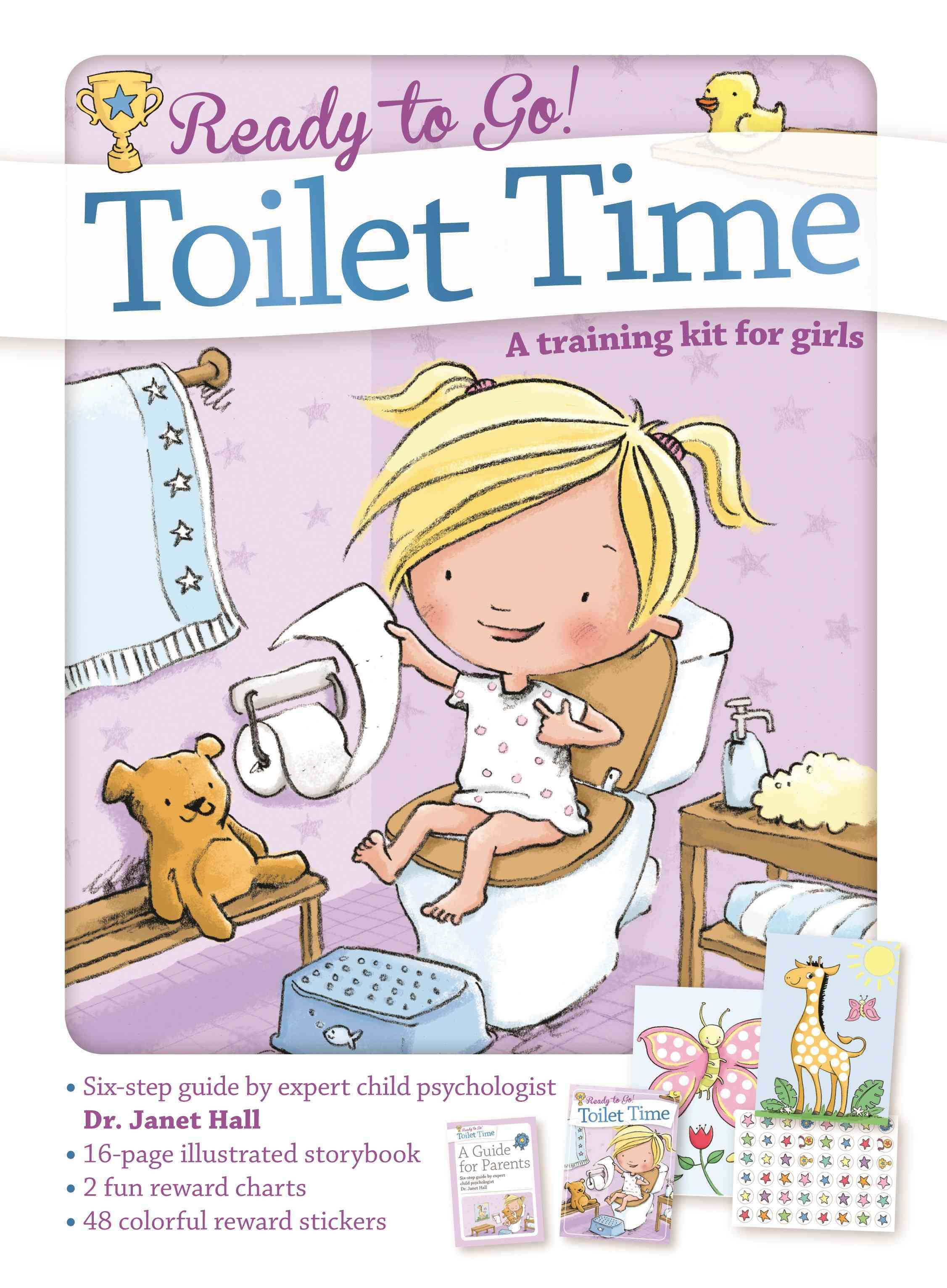 Toilet Time By Hall, Janet